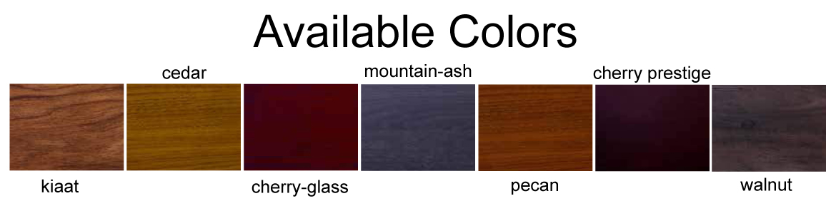 casket and coffin color variety